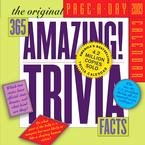 365 Amazing Trivia Facts Page-A-Day 2009 Desk Calendar (365 Days Of Amazing Trivia)