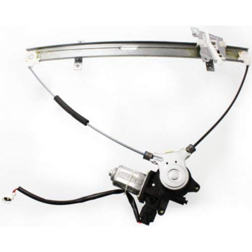 (Front Window Regulator Compatible with SUZUKI GRAND VITARA/TRACKER 1999-2005 / XL-7 2002-2006 LH Power with Motor)