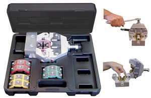Mastercool (71550) Black Manual A/C Hose Crimper ()