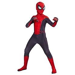 Toddler Kids Spider Verse Miles Morales Gwen Far From Home Peter Parker Jumpsuit Bodysuit Black Spider Tights Zentai Costume