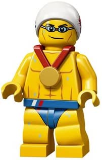 LEGO Team GB Minifigure - STEALTH SWIMMER (Olympics 2012)