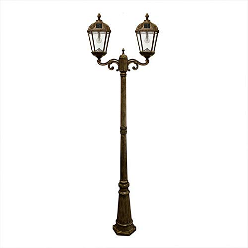 Gama Sonic Victorian Double Solar Lamp Post in US - 4