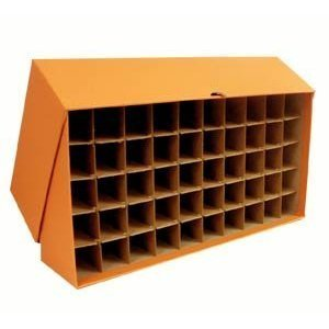 (Large storage box for Quarters in bank rolls or coin tubes)