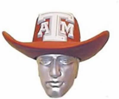 "NCAA Foamhead Foam Hat Texas A/&M University /""Aggie Head/"" NEW FAST SHIPPING"