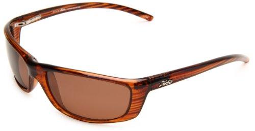 - Hobie Cabo Polarized Sport Sunglasses,Wood Grain Frame/Copper Lens,One Size