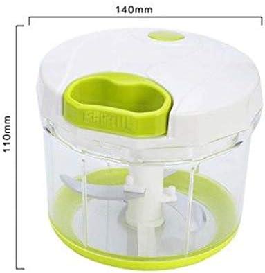 WLD Handmatige Food Chopper Hand Pull String Express Mincers,Mini Hand Aangedreven Groente Chopper,Keuken Processor Chop Vlees Fruit Groenten