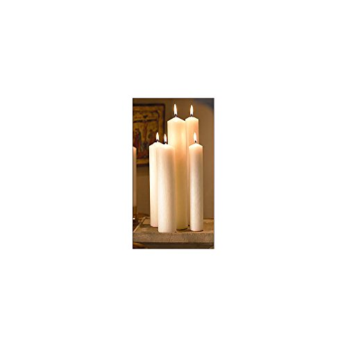Large Diameter Altar Candles 1-1/4 X 12 Pe End - 24 Candles Per -