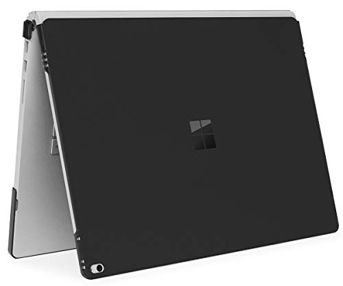iPearl mCover Hard Shell Case for 15-inch Microsoft Surface Book 2 Computer (MS-SBK2-15 Black) (Case Protector Book)