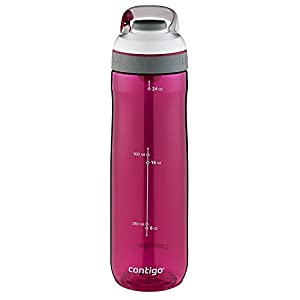 Contigo Auto Seal Cortland Water Bottle, 24-Ounce, Sangria