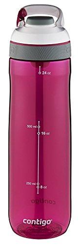 Contigo AUTOSEAL Cortland Water Bottle, 24 oz., Sangria