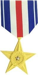 (HMC Silver Star Medal (as Issued by The US)