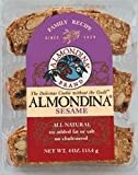 Almondina Sesame Biscuit 4 Ounces (Case of 12)
