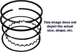 Rotary Ring Piston Set (Std) Tecumseh 27565 1458