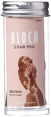 """Bloch Dance Women's Hair Pins-3""""-12 Pack"""