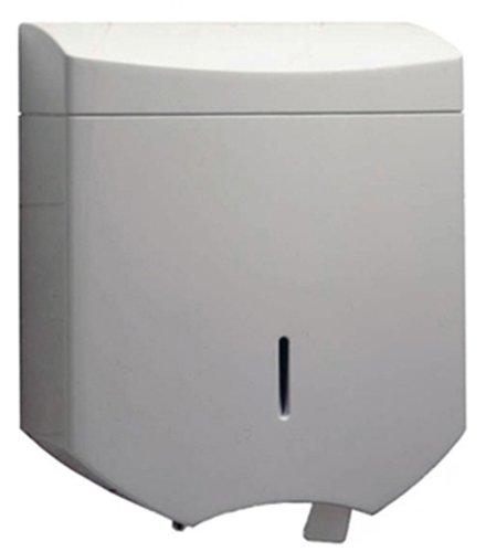 Bobrick 52891 MatrixSeries Plastic Jumbo Roll Toilet Tissue Dispenser, Gloss Finish, 10-3/4'' Width x 12-9/16'' Height by Bobrick