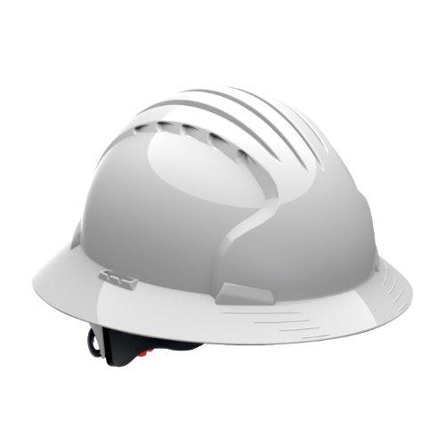 JSP 280-EV6161-10 Class E Full Brim Lineman's Hard Non-Vented Hat]()