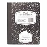 Mead Black Marbled Composition Book, Wide Ruled (Pack of 2) by Mead