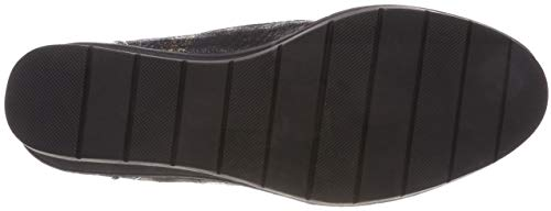 25224 Boots black Tamaris Ankle Comb Women's 21 98 Black 5wnURqa