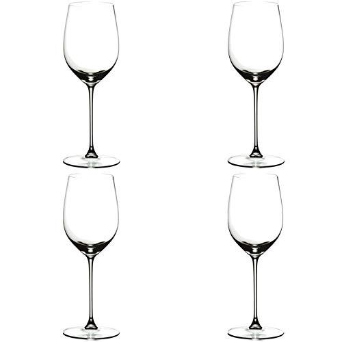 Riedel Veritas Leaded Crystal Viognier/Chardonnay Wine Glass, Set of 4