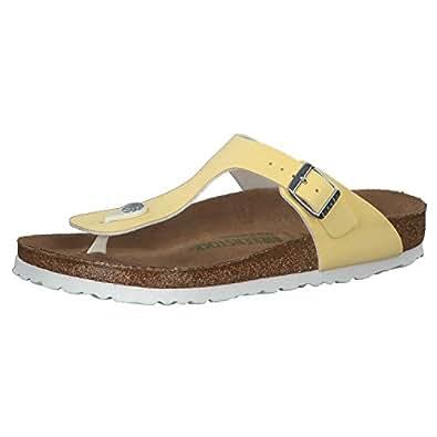 Birkenstock Gizeh Bf Womens Sandals Brushed Vanilla Veg
