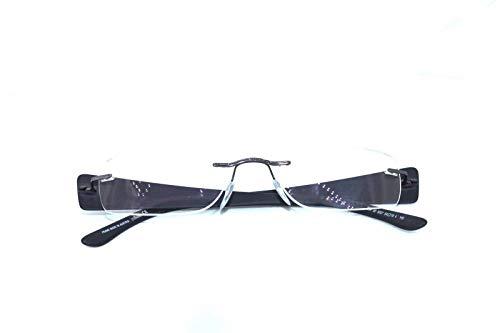 Silhouette Rimless Eyeglasses Frame Model 7598 Brand New Unisex Optic Glasses