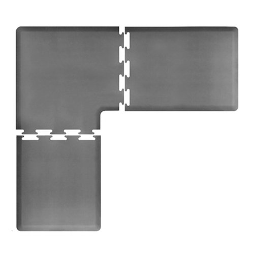 WellnessMats PuzzlePiece 3 Piece Corner Anti Fatigue