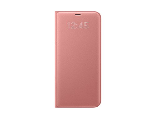 Genuine Samsung LED View Cover Flip Wallet Case for Samsung Galaxy S8+ Pink EF-NG955PPEGWW