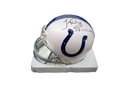 (Tony Dungy Indianapolis Colts SB XLi Champs Autographed Signed Mini Helmet Memorabilia - JSA Authentic)