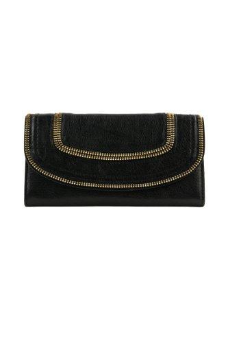Michael Kors Naomi Flap Wallet BLACK
