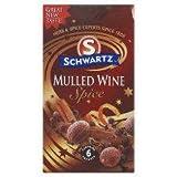 Schwartz Mulled Wine Spice Refill 6S 18G