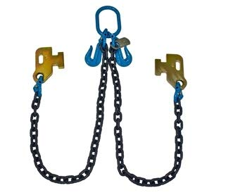B/A Products G100 3/8 Cargo Shipping Sea Container Chain Bridle Loading G10-38DC