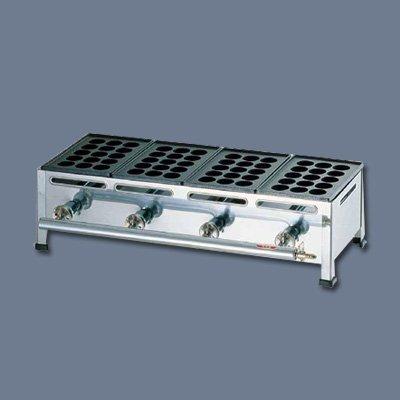関西式たこ焼器(15穴) 2枚掛 1213A 340×260×H180mm   B0163QXTO8