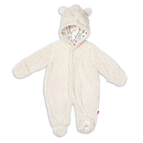 Magnificent Baby Magnetic Me Smart Little Bears Fleece Magnetic Pram Cream