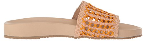 Woven Orange Slide Sandal Akumal Women's KAANAS Pool OqFA6xw
