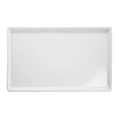 HUBERT Platter Rectangular White Melamine- 20