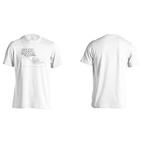 Neues Musikkonzept Saxophon Herren T-Shirt l421m