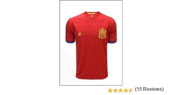 Real Federación Española de fútbol Camiseta Oficial Selección Española (Talla M): Amazon.es: Deportes y aire libre