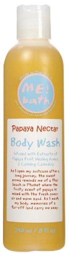 - ME! Bath Body Wash-Papaya Nectar-8 oz