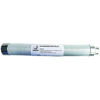 M.m.b - 9764308 kit de aspiración para las estufas de pellets, con parrilla al aire