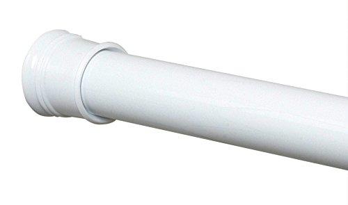Zenith TwistTight Tension Shower Rod in White - 72 Inch