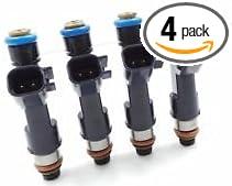 Set Of 4 Genuine Denso Fuel Injectors For 2008-2011 Chevrolet Malibu 2.4L