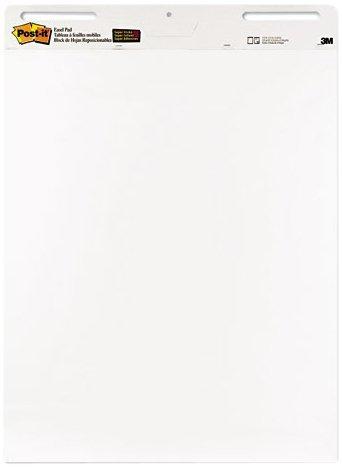 Post-it Meeting Flipchart-Blöcke 63,5 x 77,5 cm selbsthaftend 6 Stück