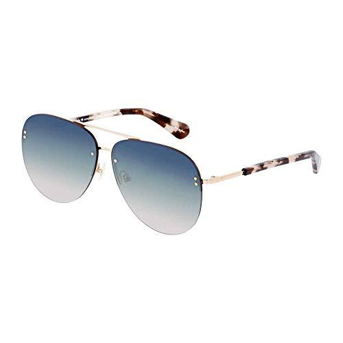 Kate Spade Women's Jakayla/s Aviator Sunglasses, Pink havana, 62 ()