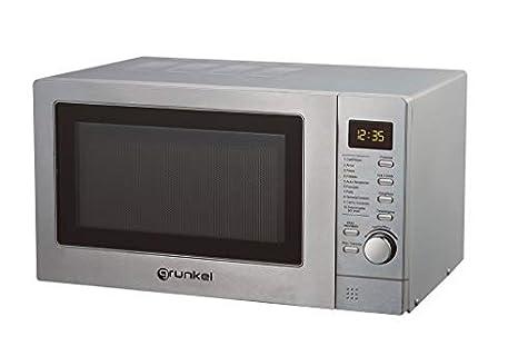 Grunkel - Microondas digital con grill de 25 litros de ...