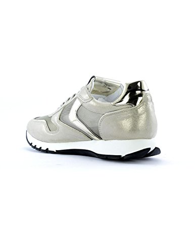 Mesh Blanche Platino Basse Sneakers Voile Julia Donna g4dqxfX