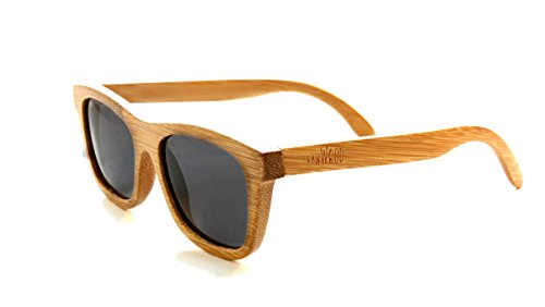 RawWood Originals Natural/Smoke Polarized Bamboo Wood - The Made By Are Same Sunglasses Company