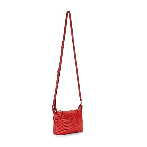 Kipling Art XS KP Sac Bandoulière, 45 cm, Hot Red Perfo