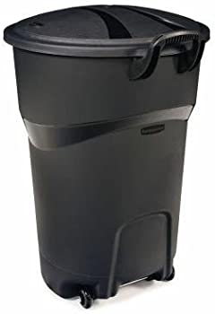 Roughneck 32 Gal. Trash Can with Lid