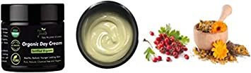 Luxury USDA Certified Organic Anti Aging Face Cream – Natural Organic Face Moisturizer for All Skin Types, Including Sensitive Skin – 100 Natural Cream for Daily Use – 2 fl.oz 60ml