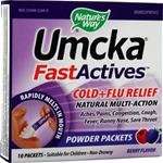 Nature's Way Umcka FastActives Cold and Flu, Berry, 10 Count (Pack of 2)